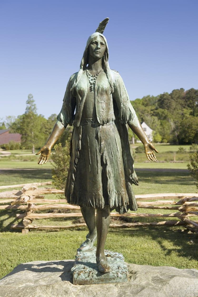 PocahontasStatue